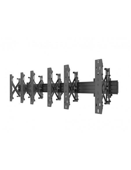 """Multibrackets 5037 fäste för skyltningsskärm 139.7 cm (55"""") Svart Multibrackets 7350073735037 - 3"""
