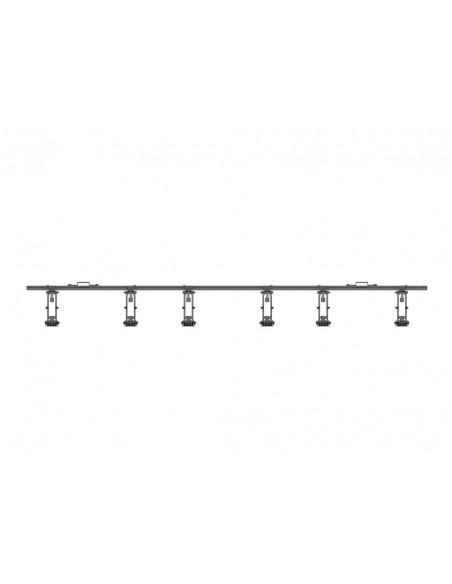 """Multibrackets 5037 fäste för skyltningsskärm 139.7 cm (55"""") Svart Multibrackets 7350073735037 - 6"""