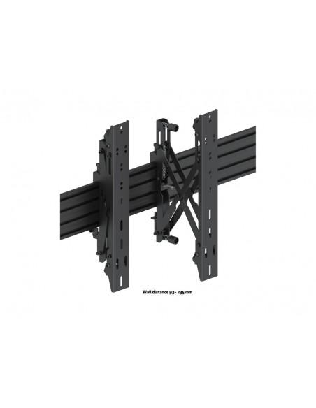 """Multibrackets 5037 fäste för skyltningsskärm 139.7 cm (55"""") Svart Multibrackets 7350073735037 - 10"""