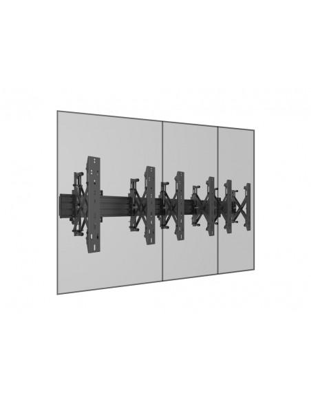 """Multibrackets 5037 fäste för skyltningsskärm 139.7 cm (55"""") Svart Multibrackets 7350073735037 - 12"""