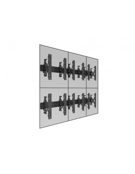 """Multibrackets 5044 fäste för skyltningsskärm 139.7 cm (55"""") Svart Multibrackets 7350073735044 - 12"""