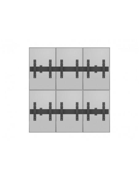 """Multibrackets 5044 kyltin näyttökiinnike 139.7 cm (55"""") Musta Multibrackets 7350073735044 - 13"""