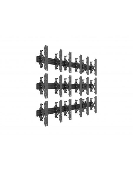 """Multibrackets 5051 kyltin näyttökiinnike 139.7 cm (55"""") Musta Multibrackets 7350073735051 - 1"""