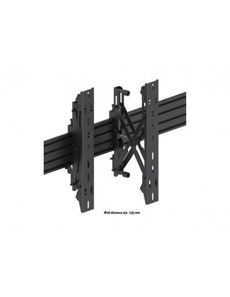 Multibrackets M Wallmount Pro MBW3x3UP Push In Pop Out Black Multibrackets 7350073735051 - 10