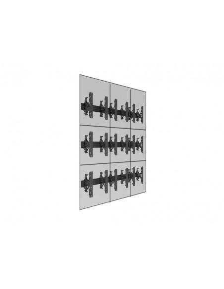 """Multibrackets 5051 fäste för skyltningsskärm 139.7 cm (55"""") Svart Multibrackets 7350073735051 - 12"""