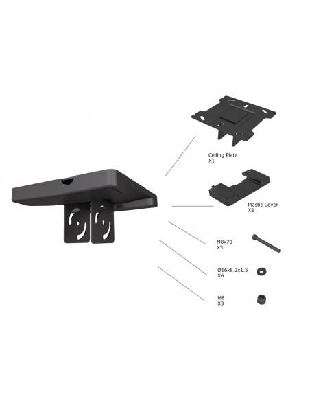 Multibrackets 5075 monitorikiinnikkeen lisävaruste Multibrackets 7350073735075 - 2