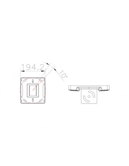 Multibrackets 5075 monitorikiinnikkeen lisävaruste Multibrackets 7350073735075 - 3