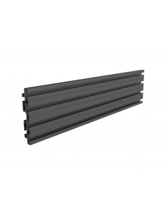 Multibrackets M Pro Series - Single Screen Rail 48cm Black Multibrackets 7350073735082 - 1