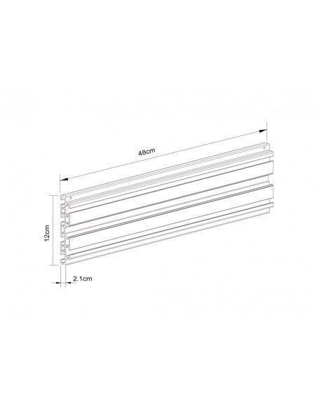 Multibrackets 5082 monitorikiinnikkeen lisävaruste Multibrackets 7350073735082 - 3