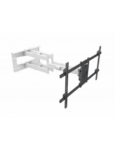 Multibrackets M Universal Long Reach Arm HD 910mm Dual White Multibrackets 7350073736881 - 1