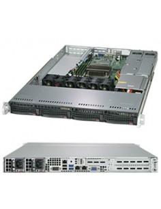 Supermicro SuperServer 5019C-WR Intel C246 LGA 1151 (Socket H4) Rack (1U) Black Supermicro SYS-5019C-WR - 1