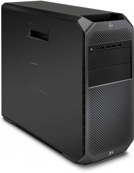 HP Z4 G4 W-2123 Mini Tower Intel® Xeon W 32 GB DDR4-SDRAM 2256 HDD+SSD Windows 10 Pro Arbetsstation Svart Hp 3MB65EA#UUW - 3