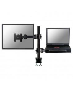 """Newstar FPMA-D960NOTEBOOK monitorin kiinnike ja jalusta 68.6 cm (27"""") Puristin Musta Newstar FPMA-D960NOTEBOOK - 1"""