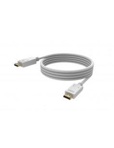 Vision TC 1MDPHDMI4K cable gender changer DisplayPort HDMI 2.0 Valkoinen Vision TC 1MDPHDMI4K - 1