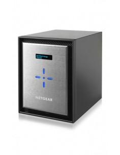 Netgear ReadyNAS 626X NAS Mini Tower Nätverksansluten (Ethernet) Svart, Silver D-1521 Netgear RN626XE3-100NES - 1