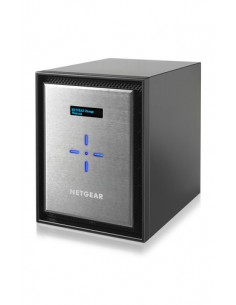 Netgear ReadyNAS 626X NAS Mini Tower Ethernet LAN Musta, Hopea D-1521 Netgear RN626XE6-100NES - 1