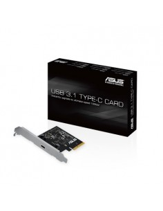 ASUS USB 3.1 TYPE-C CARD nätverkskort/adapters Intern 3.2 Gen 1 (3.1 1) Asus 90MC03D0-M0EAY0 - 1