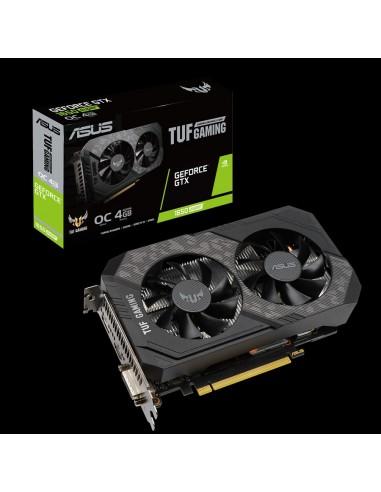 ASUS TUF-GTX1650S-O4G-GAMING NVIDIA GeForce GTX 1650 SUPER 4 GB GDDR6 Asus 90YV0E42-M0NA00 - 1