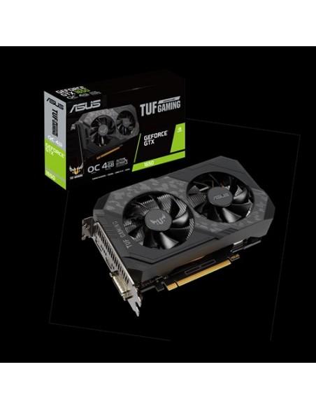 ASUS TUF Gaming TUF-GTX1650-O4GD6-GAMING NVIDIA GeForce GTX 1650 4 GB GDDR6 Asus 90YV0EH0-M0NA00 - 9