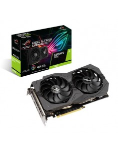 ASUS ROG -STRIX-GTX1650 -4GD6-GAMING NVIDIA GeForce GTX 1650 4 GB GDDR6 Asus 90YV0EI1-M0NA00 - 1