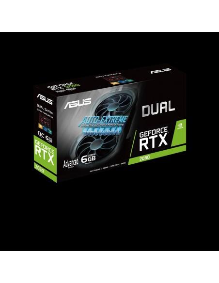 ASUS Dual -RTX2060-A6G-EVO NVIDIA GeForce RTX 2060 6 GB GDDR6 Asustek 90YV0CH3-M0NA00 - 3
