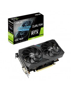 ASUS Dual -RTX2060-O6G-MINI NVIDIA GeForce RTX 2080 6 GB GDDR6 Asustek 90YV0CJ5-M0NA00 - 1