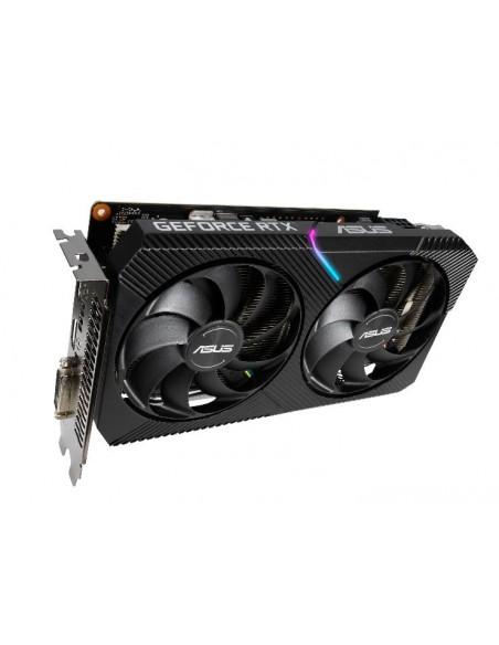ASUS Dual -RTX2060-O6G-MINI NVIDIA GeForce RTX 2080 6 GB GDDR6 Asustek 90YV0CJ5-M0NA00 - 8