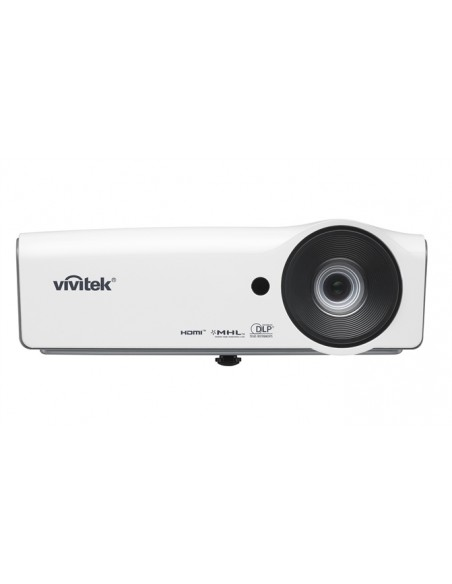 Vivitek H1060 data projector Desktop 3000 ANSI lumens DLP 1080p (1920x1080) White Vivitek H1060 - 3