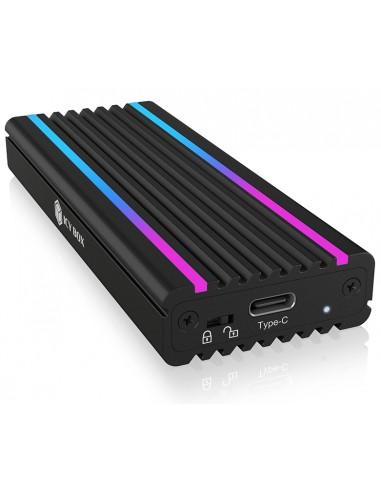 ICY BOX IB-1824ML-C31 SSD-kotelo Musta M.2 Raidsonic 60717 - 1