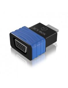 ICY BOX HDMI - VGA, M/F Musta, Sininen Raidsonic 70544 - 1