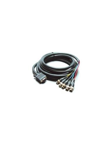 Kramer Electronics Breakout Cable, 0.9m 0.9 m VGA (D-Sub) Harmaa Kramer 92-5105003 - 1