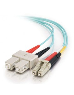 C2G 85514 fibre optic cable 2 m SC OFNR Turquoise C2g 85514 - 1
