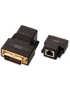 Digitus DS-54101 cable gender changer RJ-45 F DVI-D M Black Assmann DS-54101 - 1