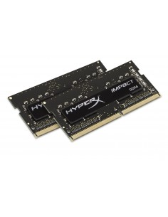 HyperX Impact 8GB DDR4 2400MHz Kit muistimoduuli 2 x 4 GB Kingston HX424S14IBK2/8 - 1