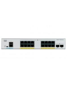 Cisco Catalyst C1000-16T-2G-L network switch Managed L2 Gigabit Ethernet (10/100/1000) Grey Cisco C1000-16T-2G-L - 1