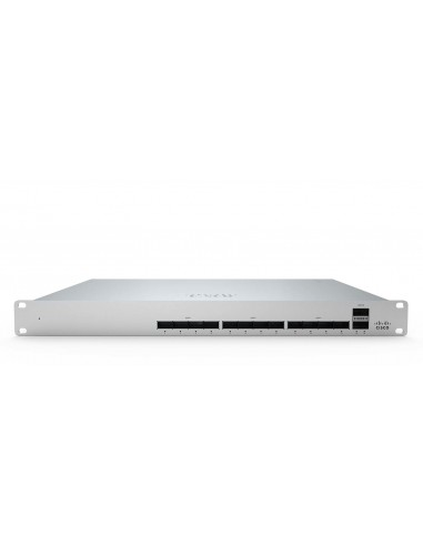 Cisco Meraki MS450-12 network switch Managed L3 Fast Ethernet (10/100) 1U Grey Cisco MS450-12-HW - 1