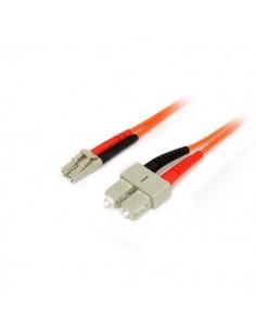 StarTech.com 2 m 50/125 multiläges Duplex-fiberpatchkabel LC - SC Startech 50FIBLCSC2 - 1