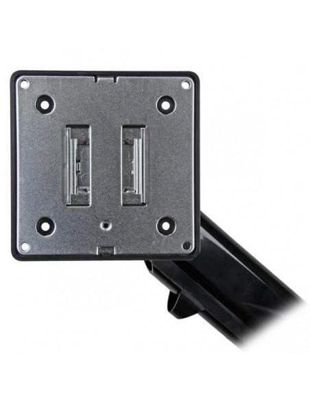 "StarTech.com ARMSLIM monitorin kiinnike ja jalusta 86.4 cm (34"") Puristin Musta Startech ARMSLIM - 3"
