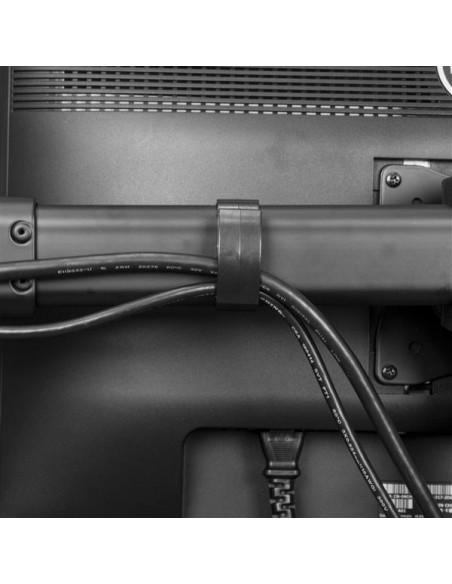 "StarTech.com ARMTRIO monitorin kiinnike ja jalusta 61 cm (24"") Puristin Musta Startech ARMTRIO - 6"