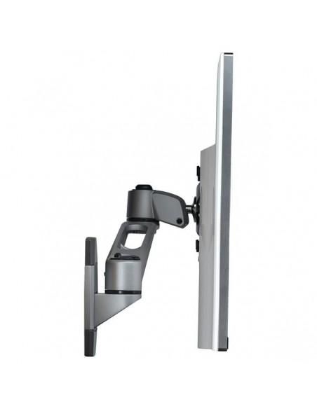 """StarTech.com ARMWALLDS2 monitorin kiinnike ja jalusta 76.2 cm (30"""") Hopea Startech ARMWALLDS2 - 9"""