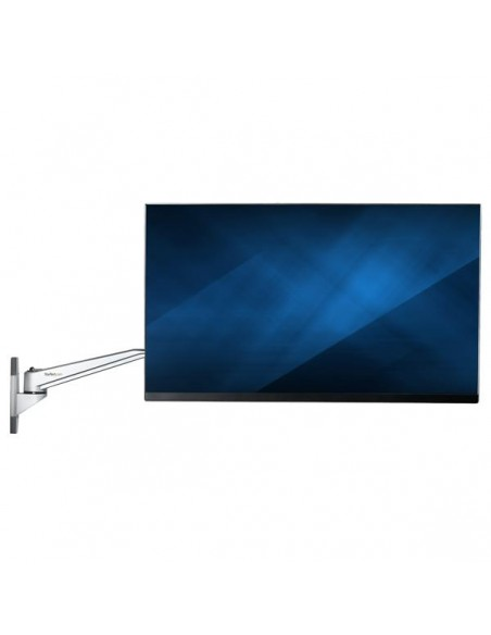 """StarTech.com ARMWALLDSLP monitorin kiinnike ja jalusta 76.2 cm (30"""") Hopea Startech ARMWALLDSLP - 9"""