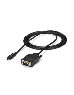 StarTech.com CDP2VGAMM2MB videokaapeli-adapteri 2 m USB Type-C VGA (D-Sub) Musta Startech CDP2VGAMM2MB - 1