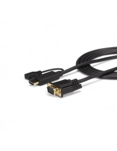 StarTech.com 6 ft HDMI to VGA Active Converter Cable - Adapter 1920x1200 or 1080p Startech HD2VGAMM6 - 1
