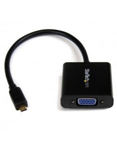 StarTech.com Micro HDMI to VGA Adapter Converter for Smartphones / Ultrabook Tablet - 1920x1080 Startech MCHD2VGAE2 - 1