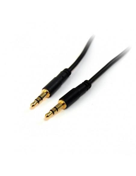 StarTech.com 4.5 m Slim 3.5 mm stereoaudiokabel - M/M Startech MU15MMS - 1