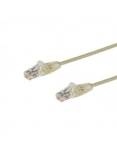 StarTech.com 0.5 m CAT6-kabel - Tunn Ej hakfria RJ45-kontakter Grå Startech N6PAT50CMGRS - 1