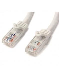 StarTech.com N6PATCH3WH verkkokaapeli Valkoinen 0.914 m Cat6 U/UTP (UTP) Startech N6PATCH3WH - 1