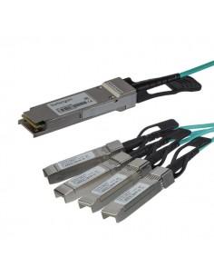 StarTech.com QSFP4X10GAO3 valokuitukaapeli 3 m QSFP+ 4x SFP+ Musta Startech QSFP4X10GAO3 - 1