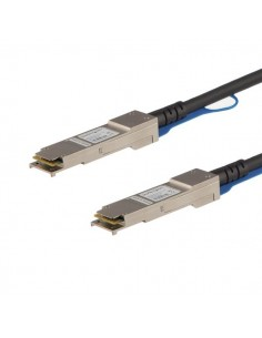 StarTech.com QSFPH40GACU5 verkkokaapeli Musta 5 m Startech QSFPH40GACU5 - 1
