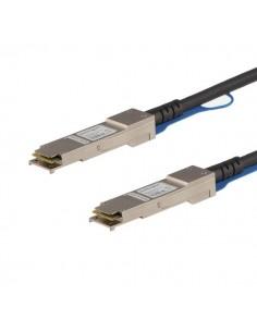 StarTech.com QSFPH40GACU7 verkkokaapeli Musta 7 m Startech QSFPH40GACU7 - 1